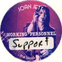 Joan Jett / Caruso Backstage Pass
